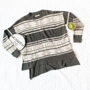 Billabong | Tidal Mirage Hi-Low Knit Print Sweater